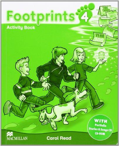 9780230012219: Footprints 4 Activity Pack Pack B1