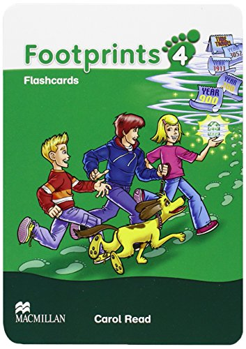 9780230012264: Footprints 4: Flashcards