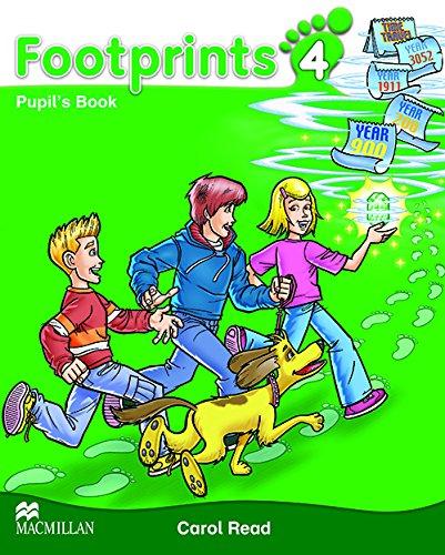 9780230012295: Footprints 4: Pupil's Book Pack
