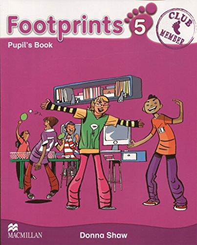 9780230012301: FOOTPRINTS 5 Pupil's Book - 9780230012301