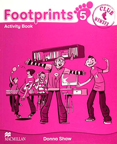 Footprints 5 Activity Book (Paperback): D Shaw