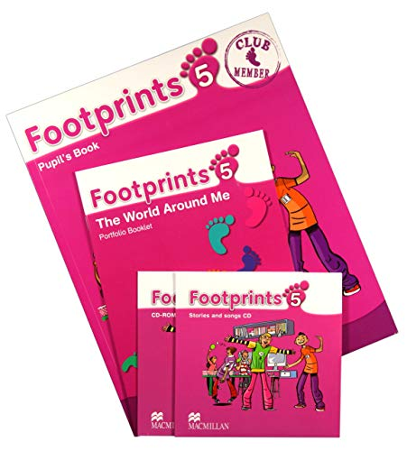 9780230012370: Footprints 5 Pupil's Book Pack