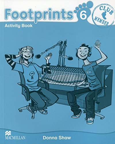 9780230012394: Footprints 6 Activity Book