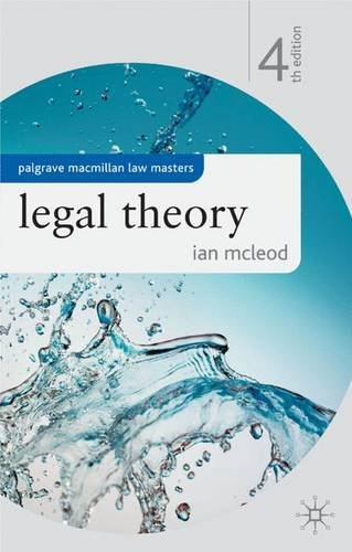 9780230013339: Legal Theory (Palgrave Macmillan Law Masters)