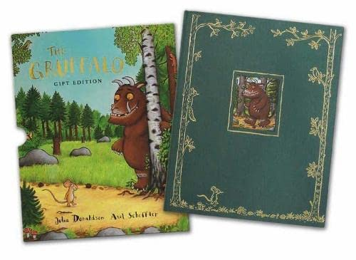 THE GRUFFALO : GIFT EDITION - DOUBLE SIGNED, RARE GRUFFALO DOODLE & SLIPCASED FIRST EDITION FIRST...