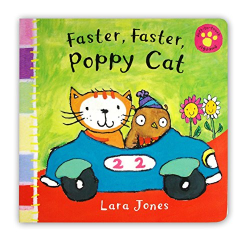 Faster, Faster, Poppy Cat (0230017053) by Lara Jones