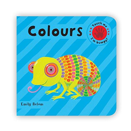 9780230018297: EMBOSSED BOARD BOOKS: Colours (Bumpy Books)