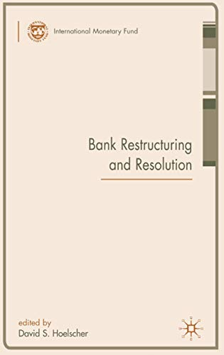 9780230019003: Bank Restructuring and Resolution (Procyclicality of Financial Systems in Asia)