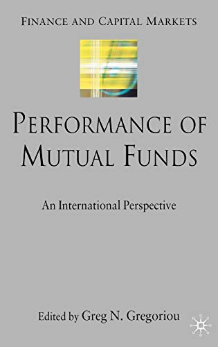 9780230019140: Performance of Mutual Funds: An International Perspective (Finance and Capital Markets Series)