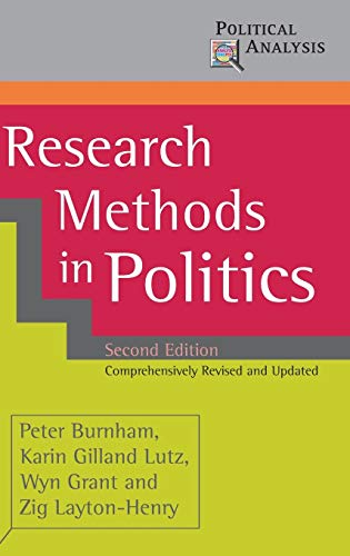 9780230019843: Research Methods in Politics (Political Analysis)