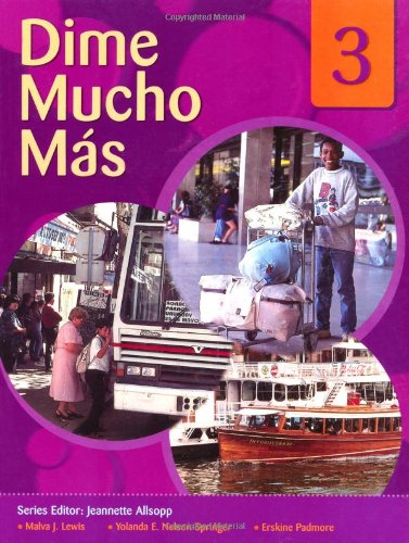 9780230020092: Dime: Spanish for Caribbean Secondary Schools Student's Pack 3: Dime Mucho Mas