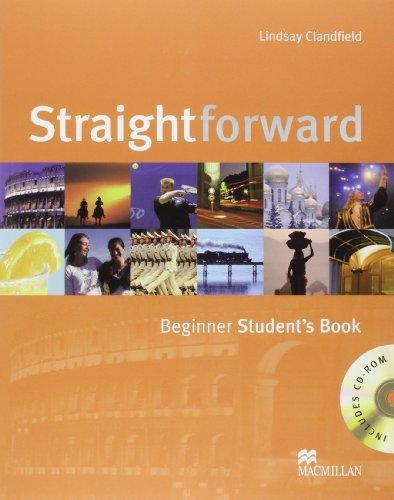 9780230020764: Straightforward Beginner Student book with Audio CD