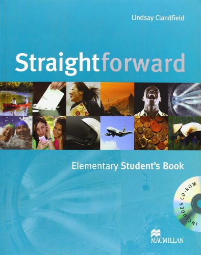 9780230020771: Straightforward - Student Book - Elementary - With CD Rom