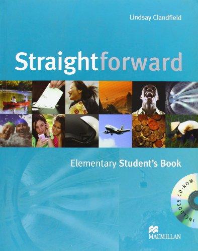 9780230020771: Straightforward. Elementary. Student's book. Per gli Ist. tecnici commerciali. Con CD-ROM