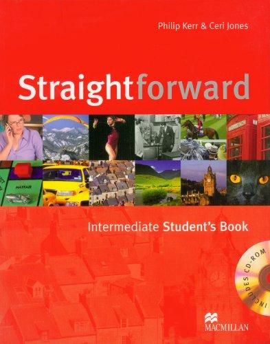9780230020788: Straightfoward. Intermediate. Student's book. Per le Scuole superiori. Con CD-ROM