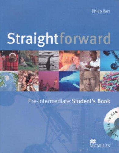 9780230020795: Straightforward Pre-Intermediate Student Book & CD-Rom Pack