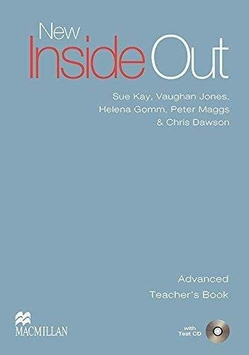 9780230020917: New Inside Out - Teacher Book - Advanced - With Test CD - CEF C1