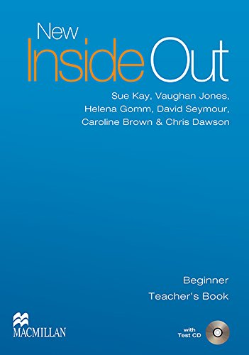 9780230020931: New Inside Out: New Inside Out - Teacher Book - Beginner - With Test CD - CEF A1 Beginner: Teacher's Book with Test CD Pack