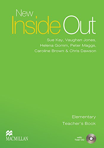 9780230020955: New Inside Out - Teacher Book - Elementary - With Test CD - CEF A1 / A2