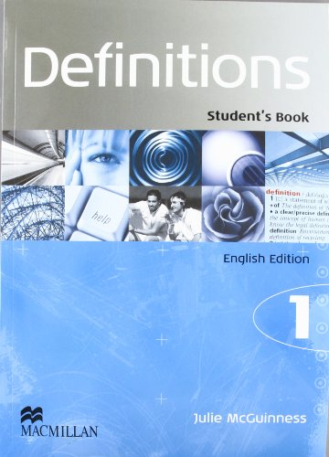 9780230021143: DEFINITIONS 1 STUDENT'S ENGLISH