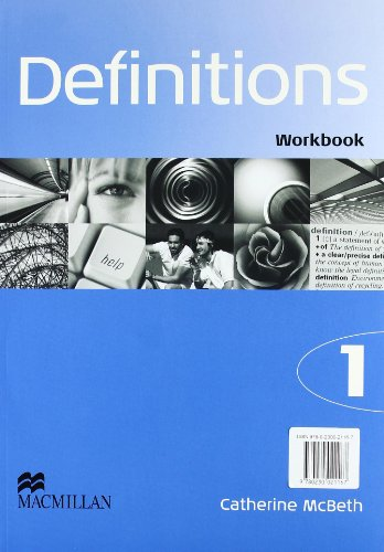 9780230021167: DEFINITIONS 1 WORKBOOK PACK ENGLISH