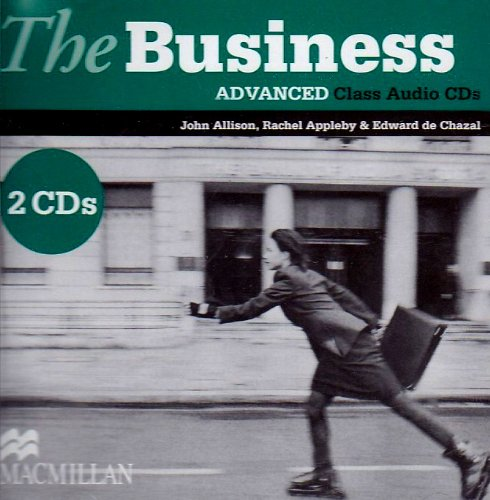 9780230021532: The business advanced class audio (2 cd's )