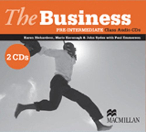 9780230021587: The business pre-intermediate class audio (2 cd's): Class CD