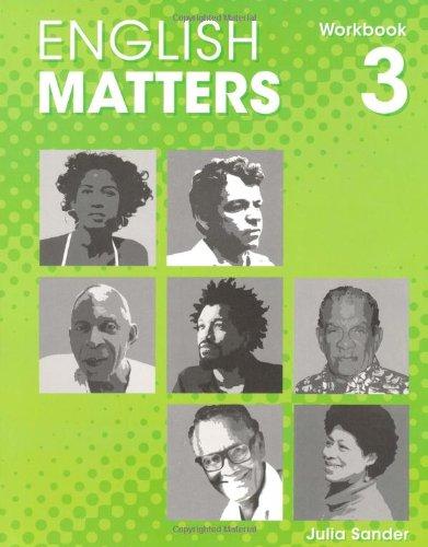 9780230023697: English Matters (Caribbean) Level 3: Workbook