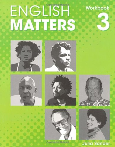 9780230023697: English Matters (Caribbean) Level 3: Workbook