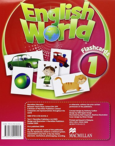 9780230024564: English World 1: Flashcards