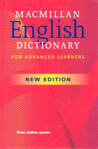 9780230025455: Macmillan Educ: Macmillan English Dictionary for Advanced Le