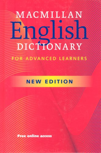 9780230025455: Macmillan English Dictionary for Advanced Learners