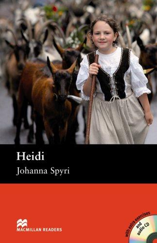 9780230026797: Heidi - Book and Audio CD Pack - Pre Intermediate (Macmillan Reader)
