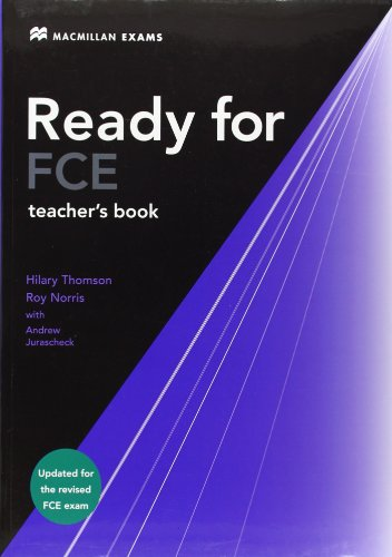 9780230027657: Ready for FCE Teacher's Book