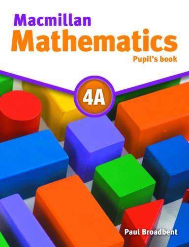 9780230028272: Macmillan Mathematics 4 Pupil's Book B
