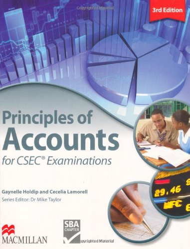 9780230028746: Principles of Accounts for CSEC Examinations