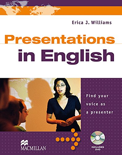 9780230028784: Presentations in English: Find Your Voice as a Presenter