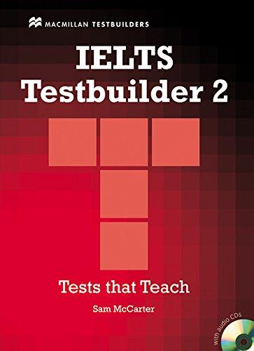 9780230028852: IELTS TESTBUILDER 2 Tests Pack: Student's Book and Audio CD (MacMillan Testbuilders)