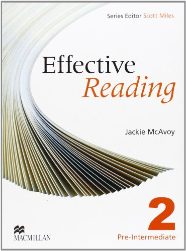 9780230029156: Effective Reading 2 - Pre Intermediate Student Book