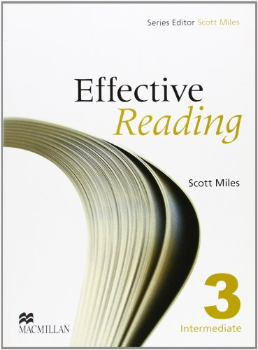9780230029163: EFFECTIVE READING 3 Int Sb: Student Book Pre-intermediate