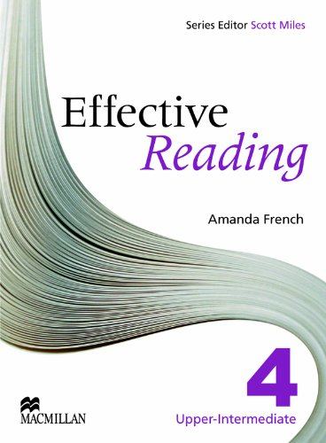 9780230029170: Effective Reading 4 - Upper Intermediate Student Book