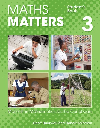 9780230029897: Maths Matters: Macmillan Mathematics for the Caribbean (Student's Book 3 - Grade 9)