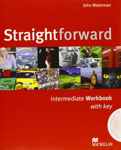 9780230030268: Straight forward intermediate workbook whith key (audio CD + Portafolio)