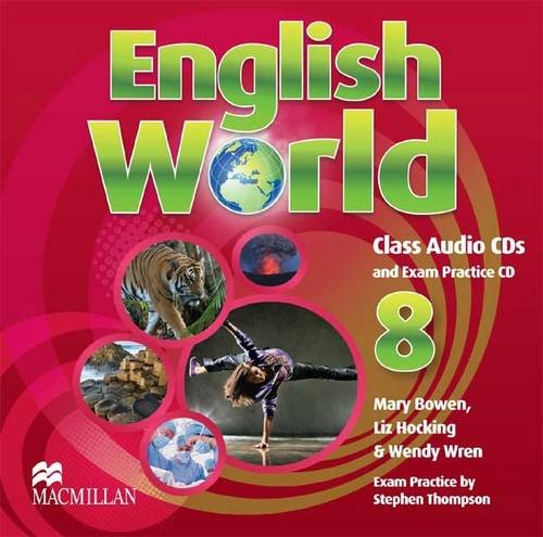 9780230032453: English World 8 (Secondary) Class Audio CDs (3)