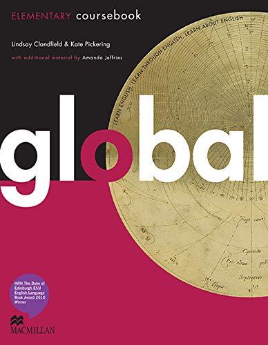 9780230032941: Global. Elementary. Student's book. Con DVD: E-workbook. Con espansione online. Per le Scuole superiori