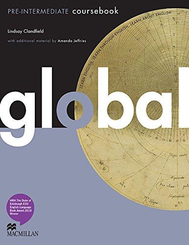 9780230033092: Global Pre-intermediate: Coursebook