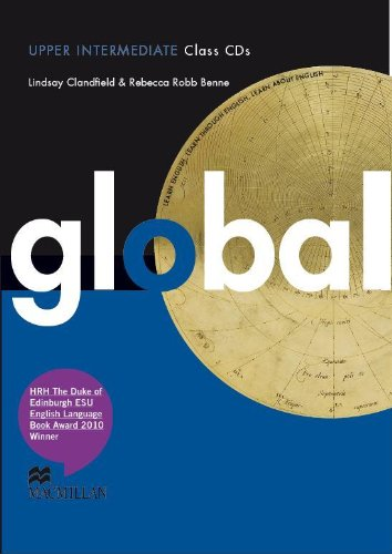 9780230033221: Global Upper Intermediate: Class CDs