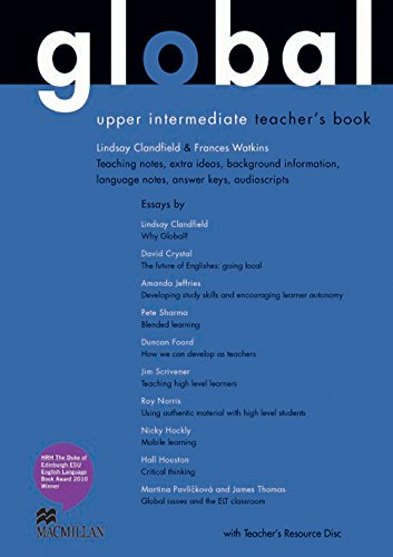 9780230033252: Global Upper Intermediate: Teacher's Book Pack