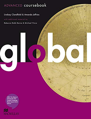 9780230033306: Global Advanced: Coursebook with Eworkbook Pack