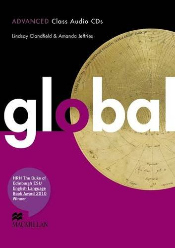 Global Advanced: Class Audio CDs: Clandfield, Lindsay and